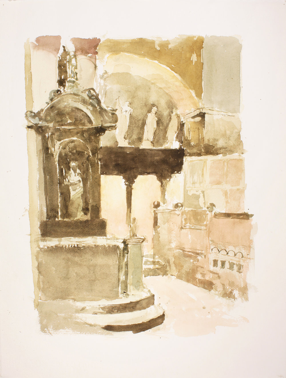 1998_San_Marco_Interior_Venice_watercolou_on_paper_23x17in_WPF383.jpg