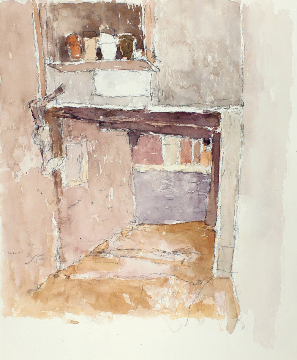 2003_Sottoportego_Mosto_watercolour_and_pencil_on_paper_14x11in_WPF322.jpg