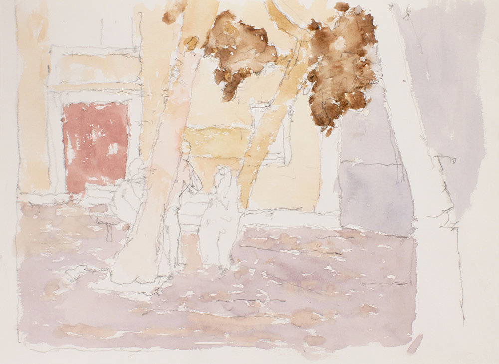 2007_Campo_Gesuiti_Facing_North_watercolour_and_pencil_on_paper_11x15in_WPF244.jpg
