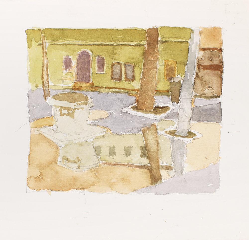 Campo After the Rain Sant Alvise Venice