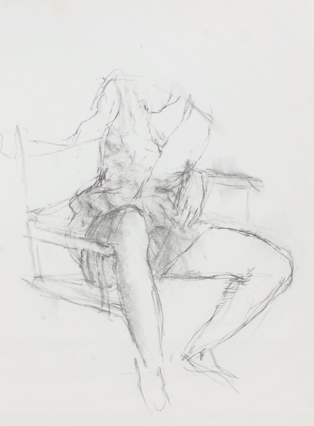 Study for Seated Girl (Sophie)