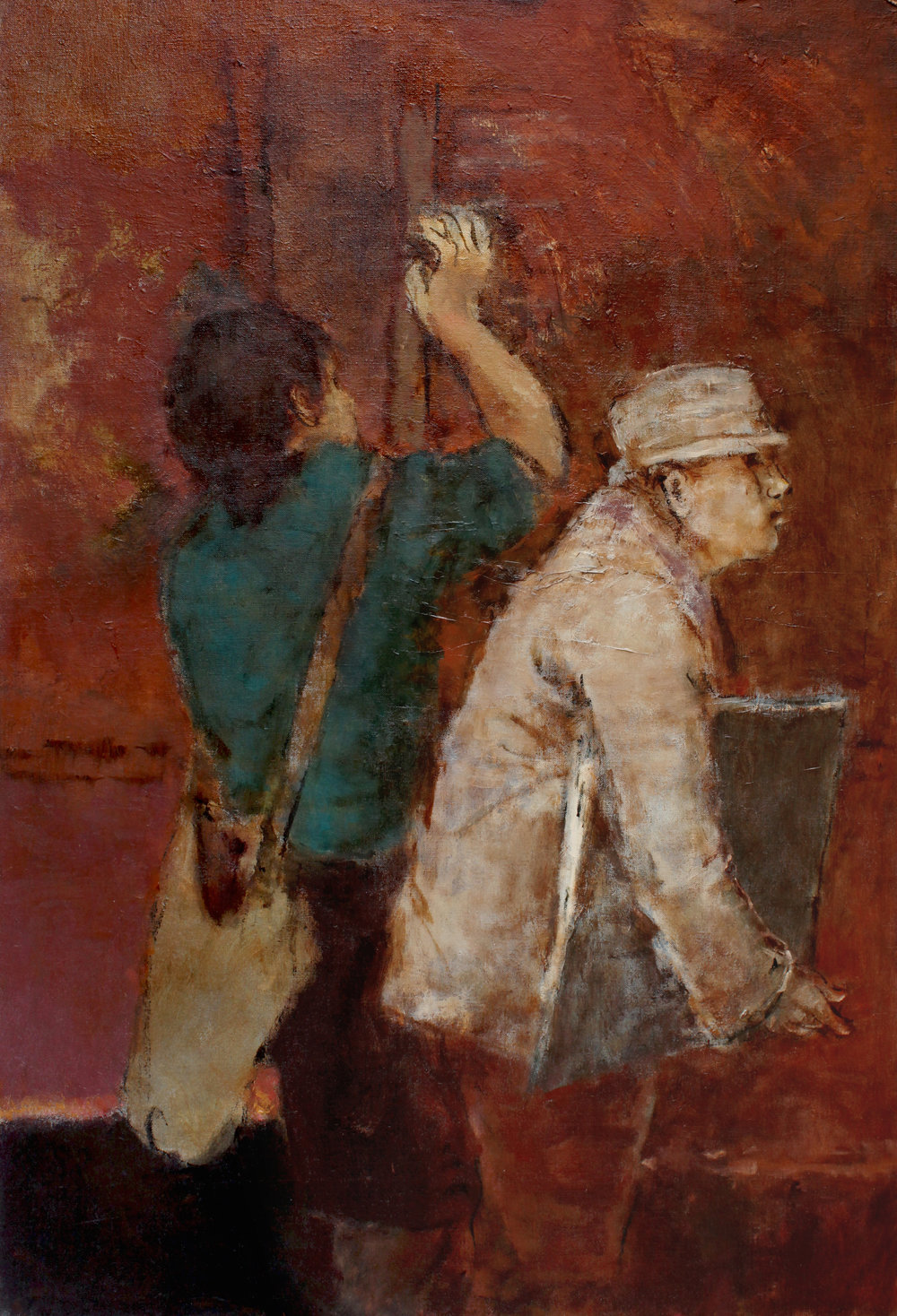 Figures with Satchel and Portfolio