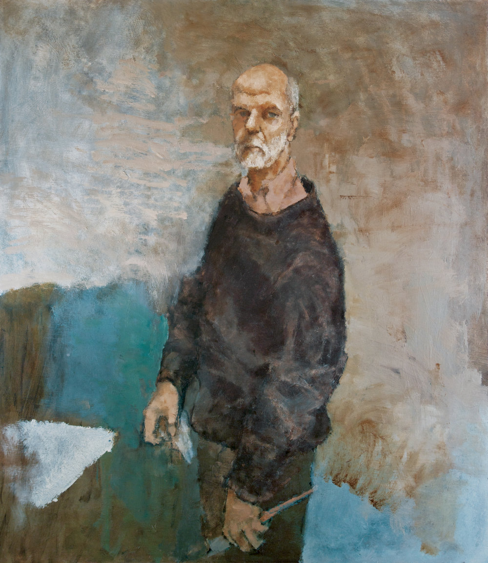 Self-Portrait with Brushes