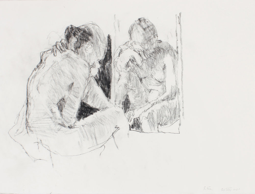 Seated Nude with Refelction
