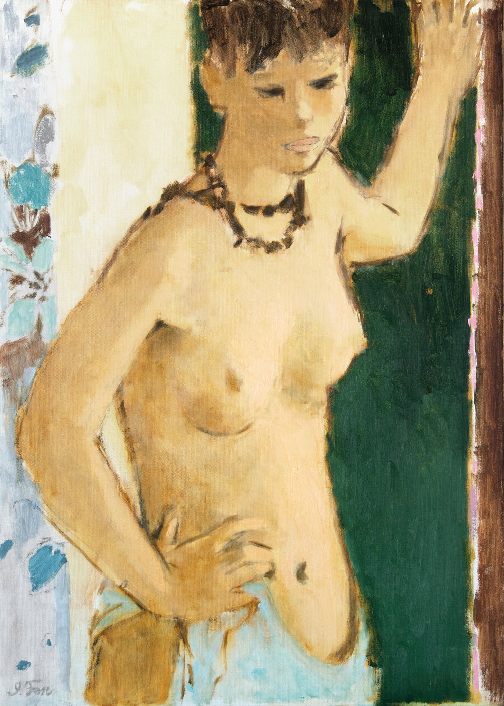 Nude with Necklace