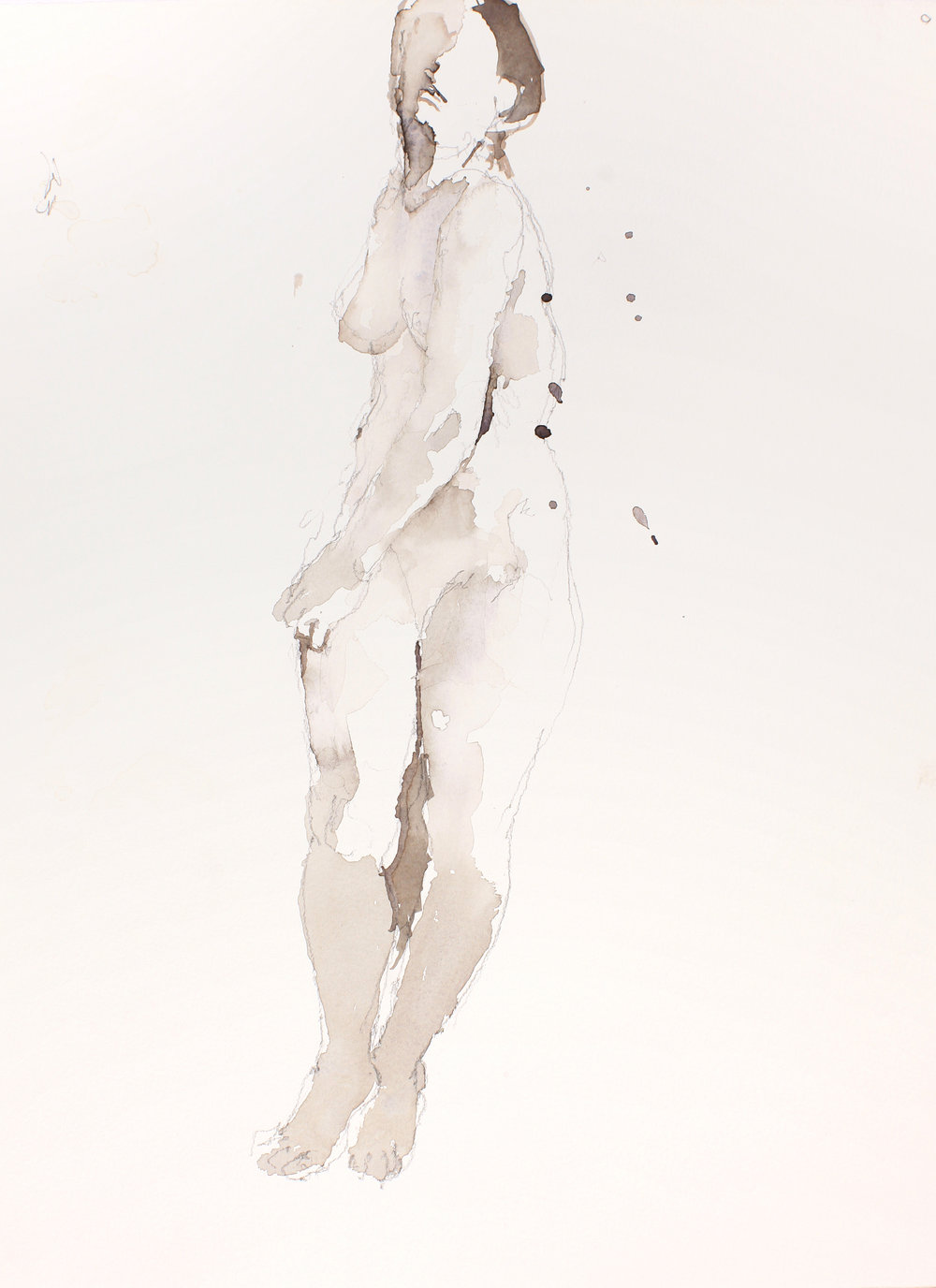 Standing Nude in Contraposto