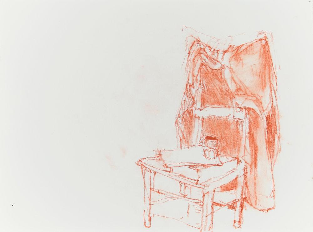 Jacket on Studio Chair