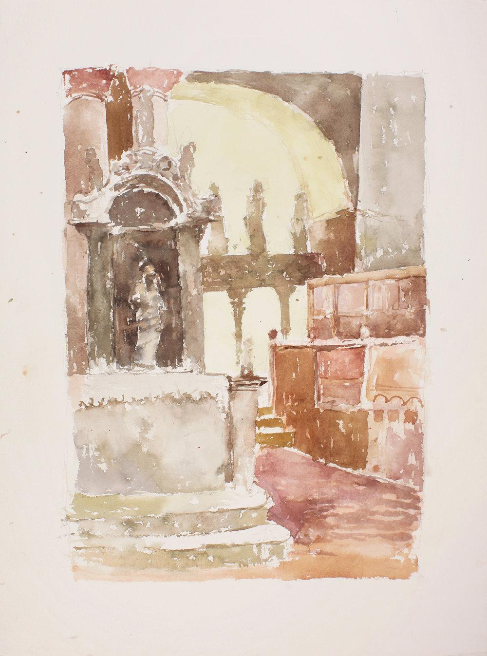 San Marco Interior Towards High Altar, Venice
