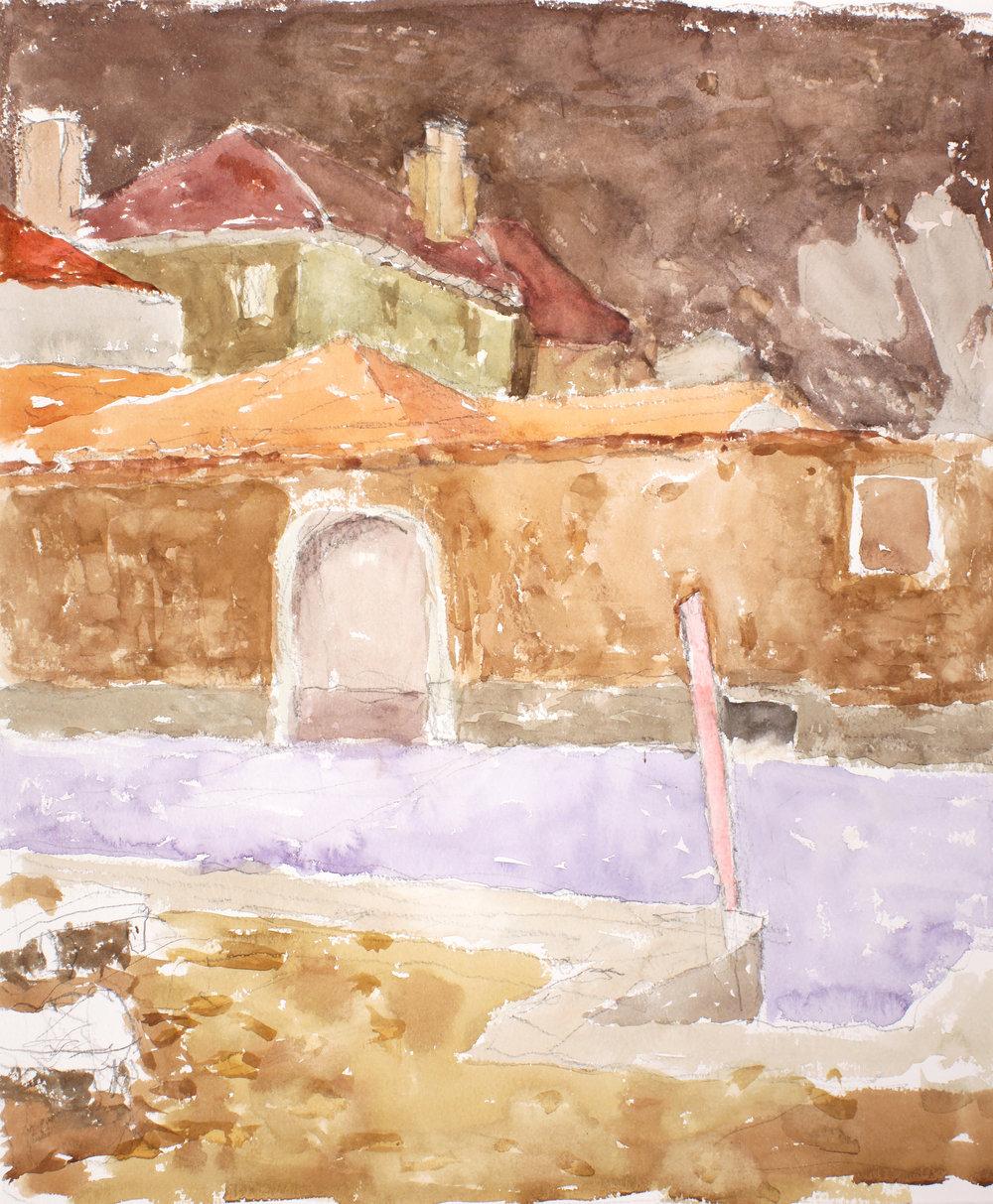 1990_Rio_Di_Sant_Alvise_watercolour_and_pencil_on_paper_20x16in_WPF390.jpg