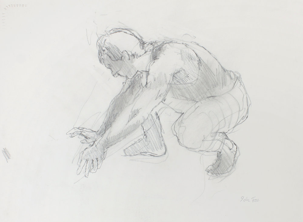 Digger Crouching Figure