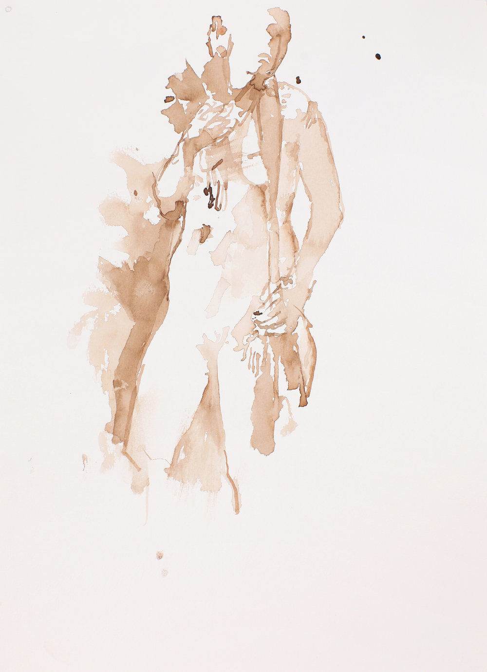 Nude Figure Study For Orpheus