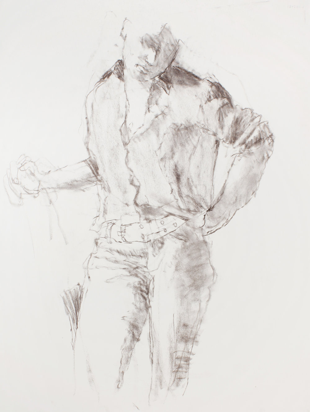 2003_Standing_Male_with_a_Belt_charcoal_on_paper_30x23in_WPF454_IMG.jpg
