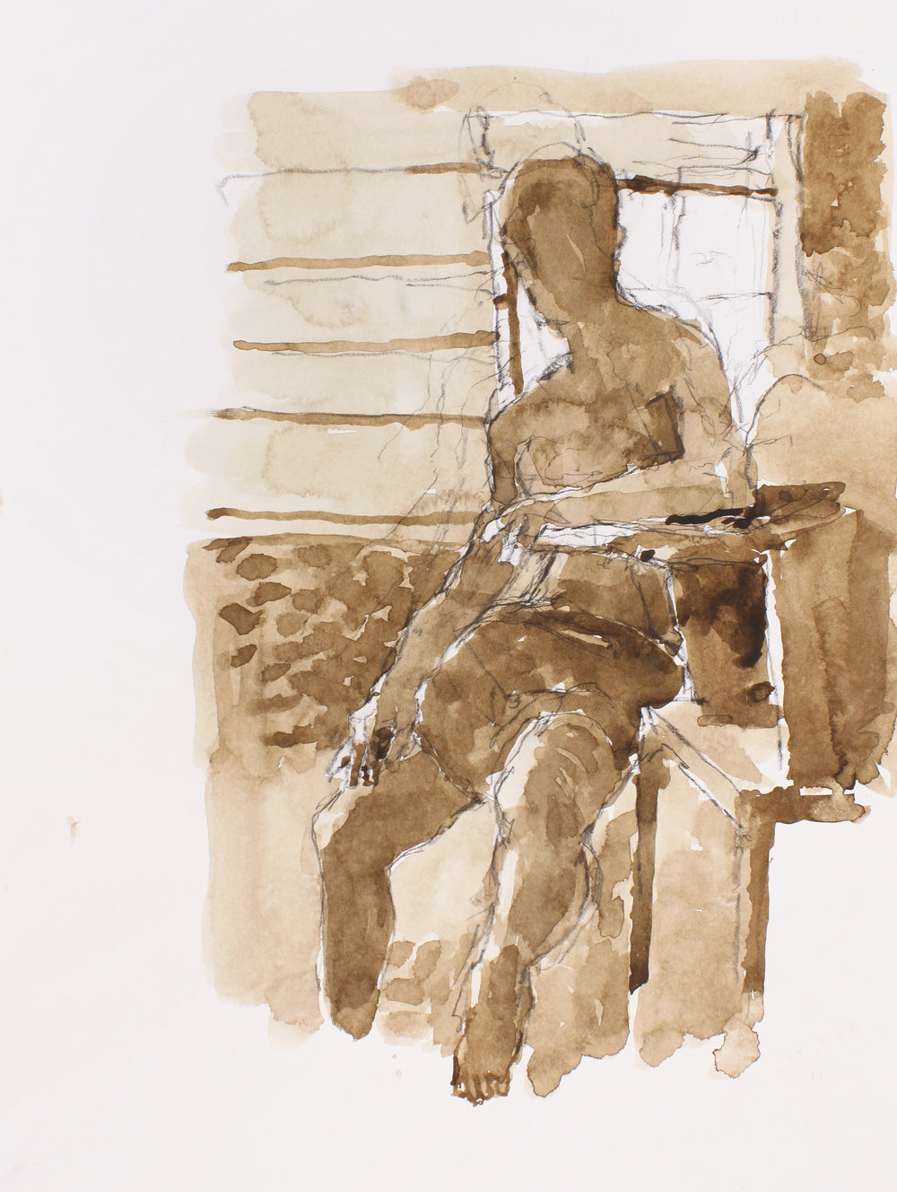 2001_Male_Figure_Seated_Beside_Press_watercolour_and_conte_on_paper_15x11in2001_Man_with_Press_Watercolour_and_conté_on_paper_15x11in_WPF145.jpg