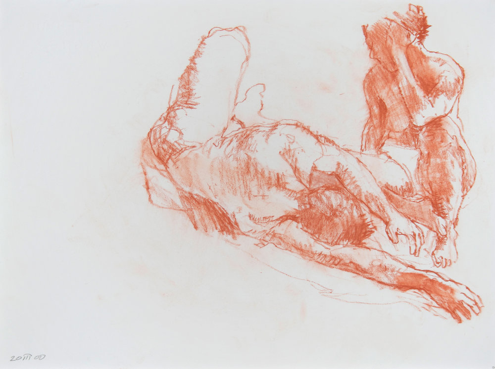 Reclining and Seated Nudes