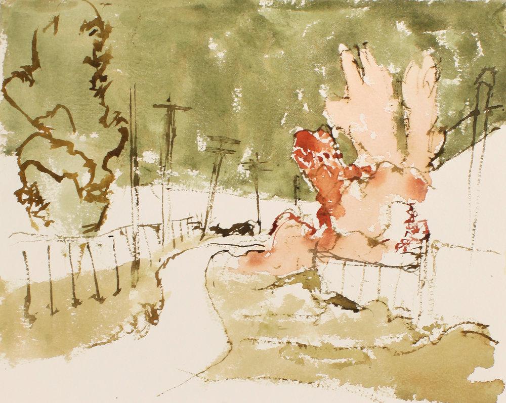 Pink Trees St-Henri