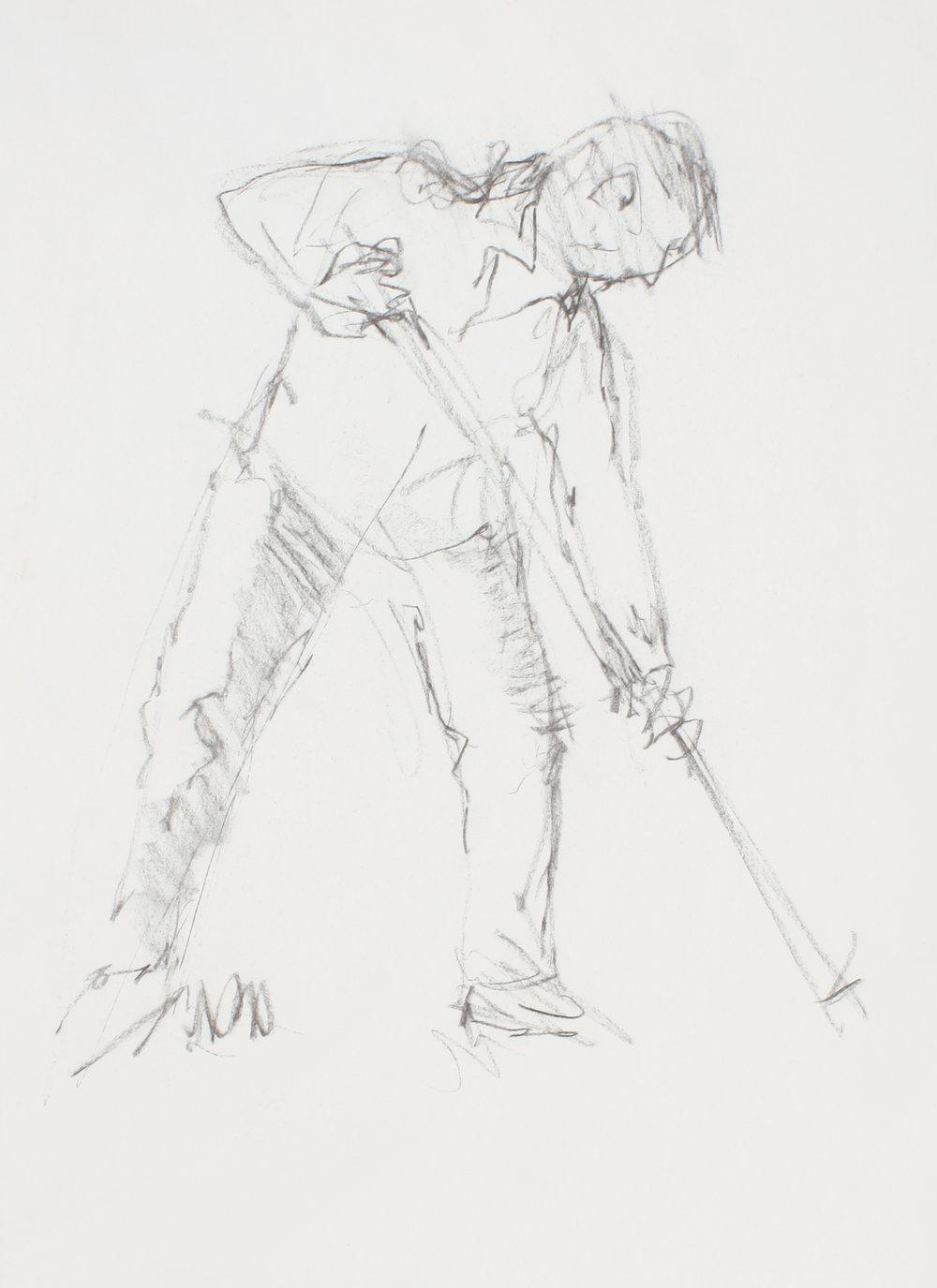 Digger Man with Shovel