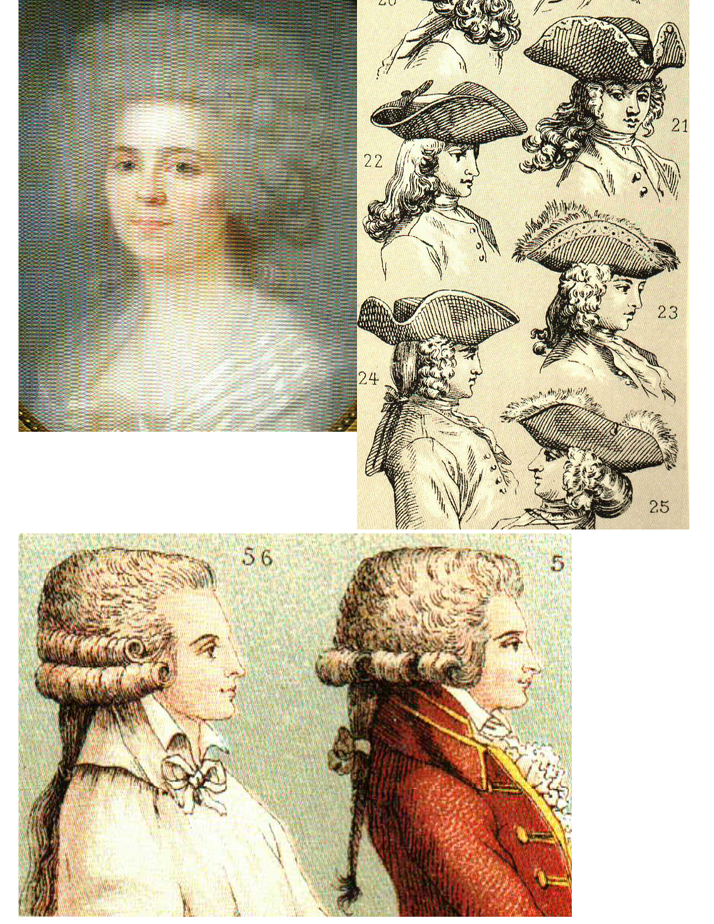 Hair and hats page