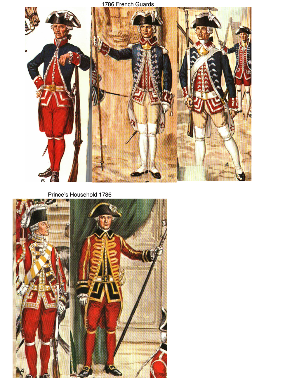Military men page