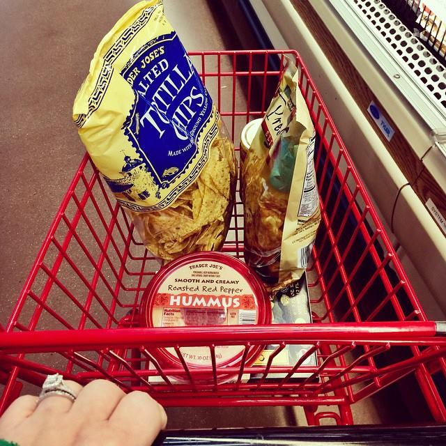 Trader Joe's kid carts are my absolute favorite!