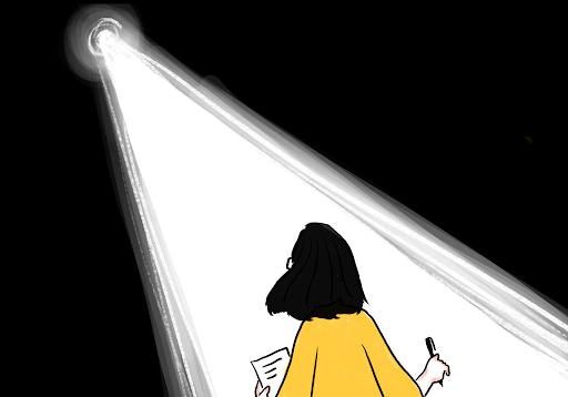 A Pinhole of Light by Tinnei, 2018