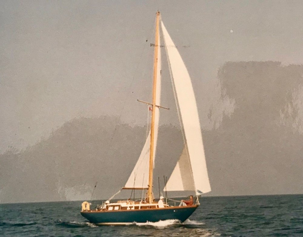 """Uncle Eddie's first """"real"""" boat was teak. She was called Tigger and required constant care."""
