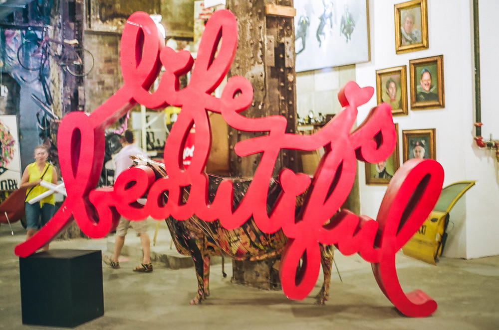 Mr Brainwash,  New York