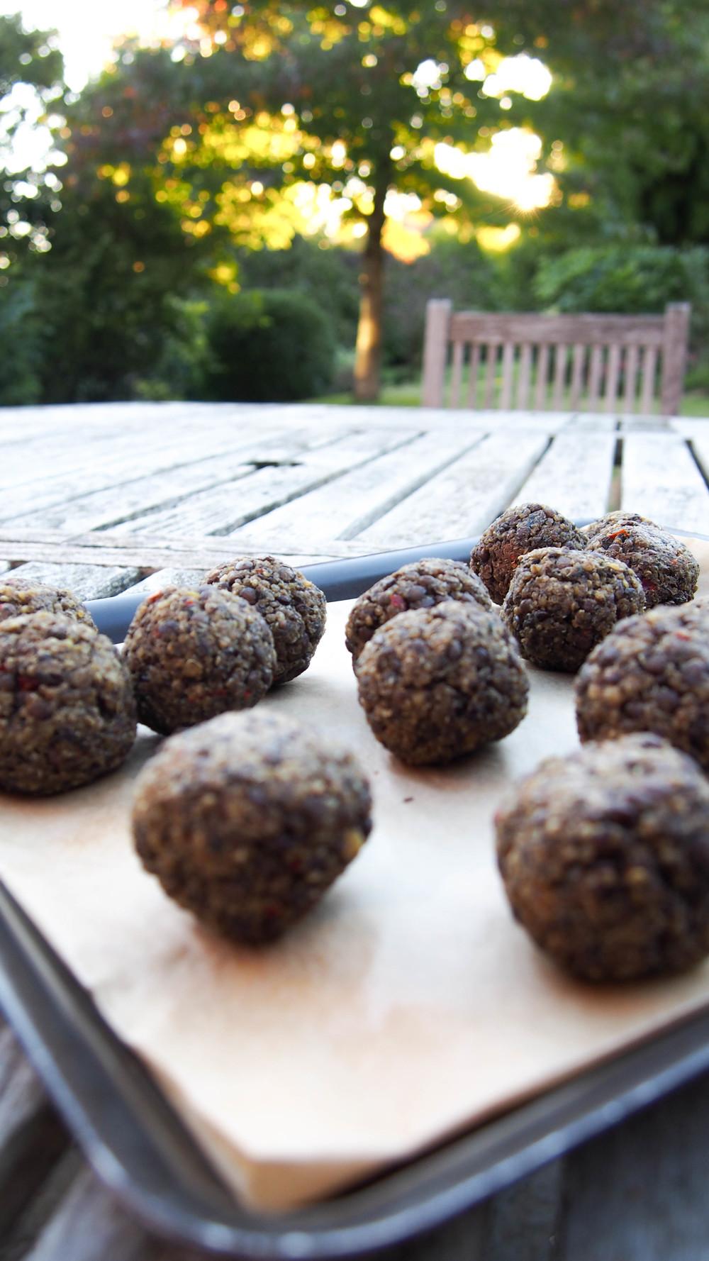 Veggie Lentil Balls recipe