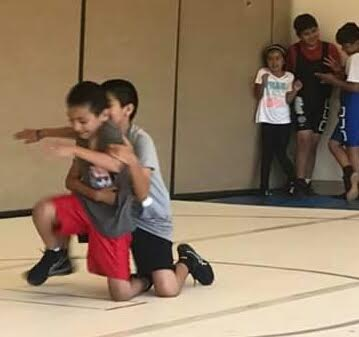 "Stand-up games help youths build up their appreciation of ""hustle"" as well as lower leg & core strength, balance and confidence."