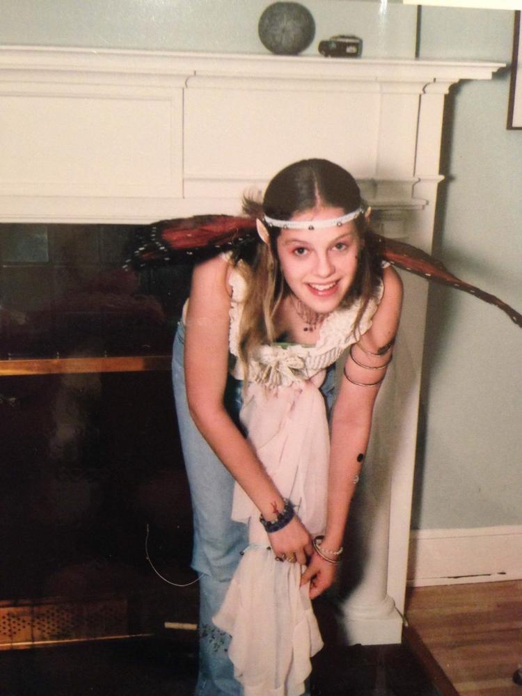8th Grade Halloween. Take note of the foam ears.