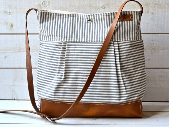 Ikabags : Stockholm stripped diaper bag $136