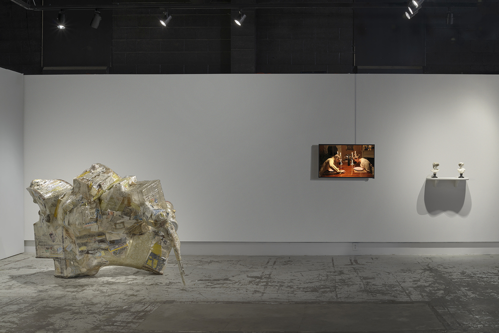 For It Sparkled Like Bracelets and Breast Pins | 2014 | mixed media | 54 x 60 x 78 |  photo: E.G. Schempf