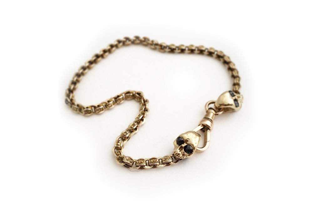 blk diamond eye skull bracelet.jpg