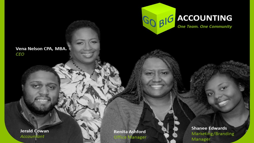 Pictured The Go Big Team!