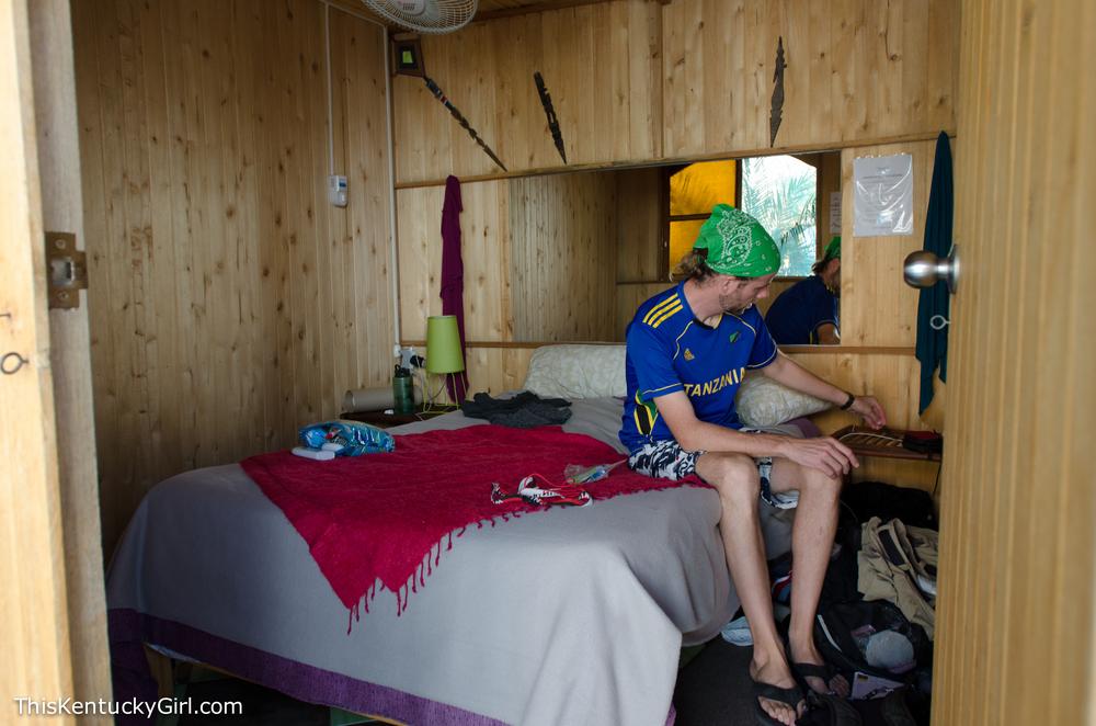 (where we slept)