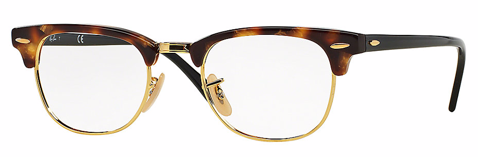 RayBan Clubmasters in Tortoise