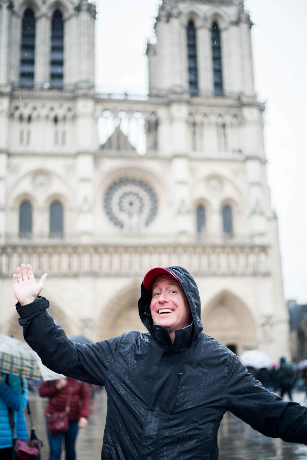 My dad obviously loved his Paris experience with me at the helm!