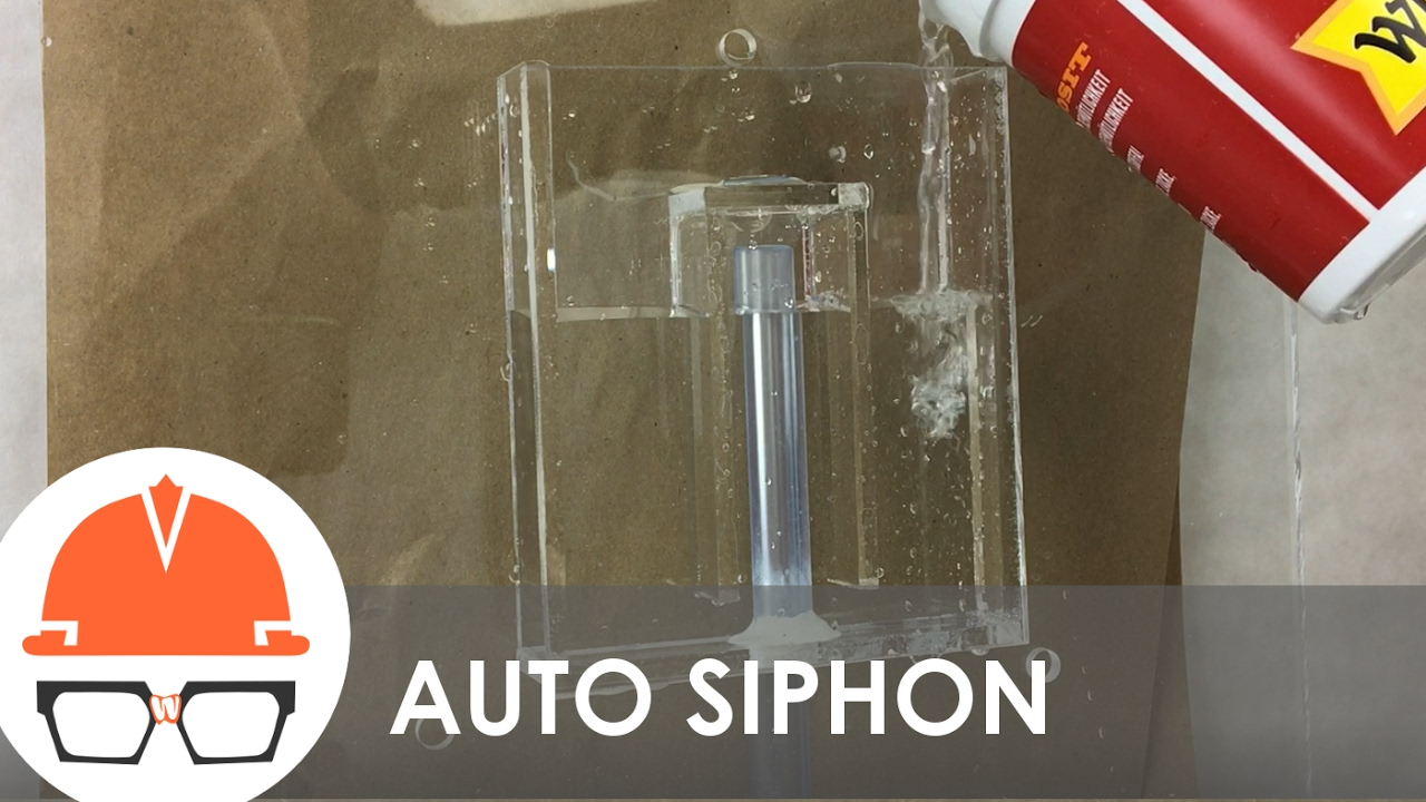 Automatic Bell Siphon Explained Practical Engineering Water Tank Filler Circuit Diagram