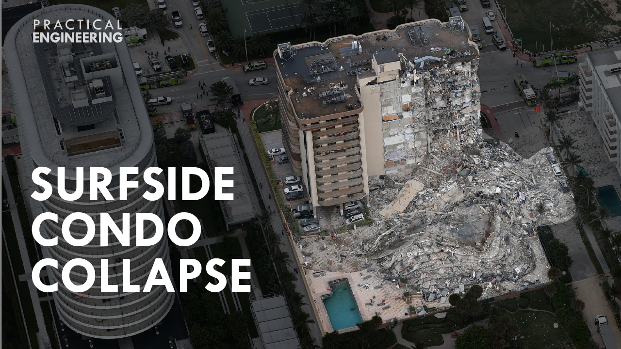 On June 24, 2021, a portion of Champlain Towers South, a 12-story condominium in Surfside, Florida, near Miami Beach, collapsed around 1:30 am. It was