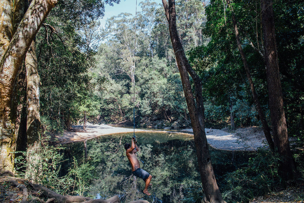 Never Never Creek, Bellingen NSW