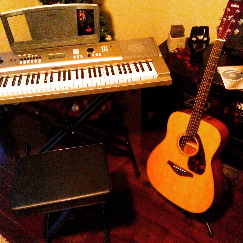 Keyboard & Guitar