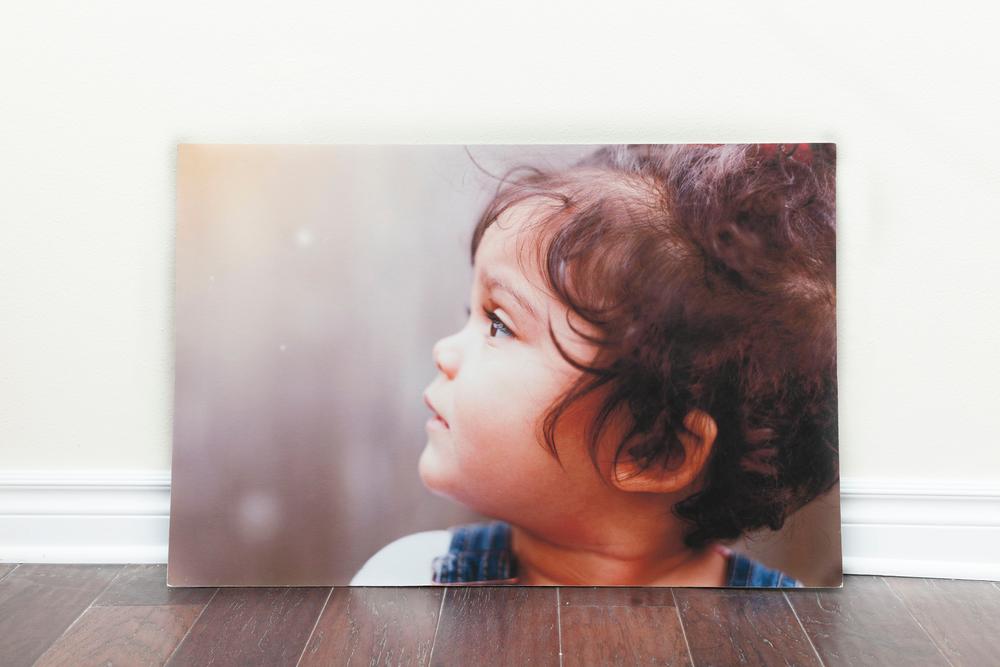 Shown: Styrene-mounted 20x30 fine art print