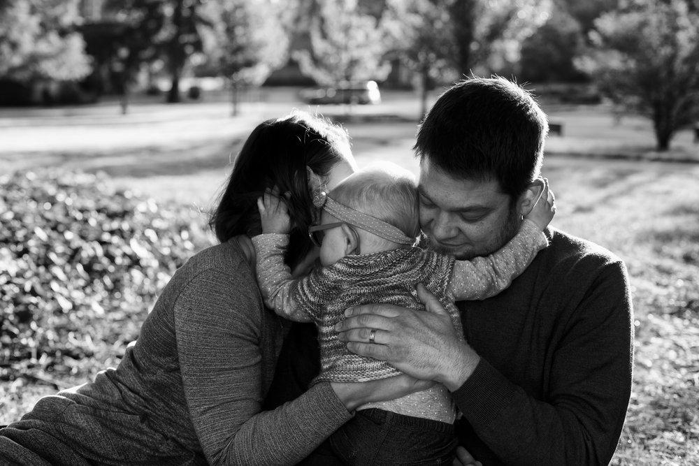 family_hug_lake oswego