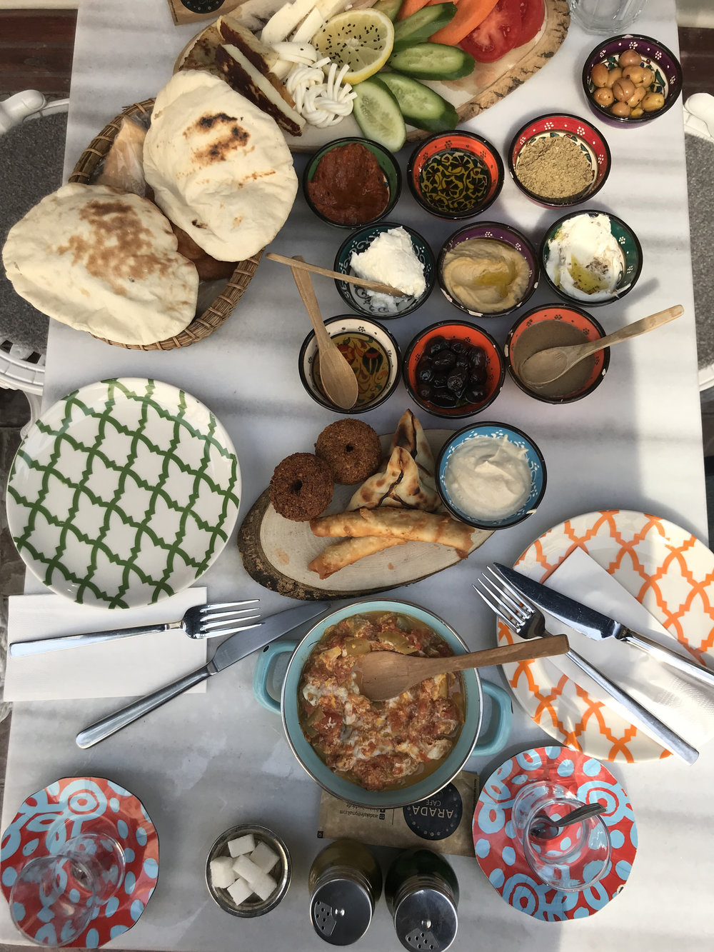 Typical Turkish breakfast (at least for us tourists)