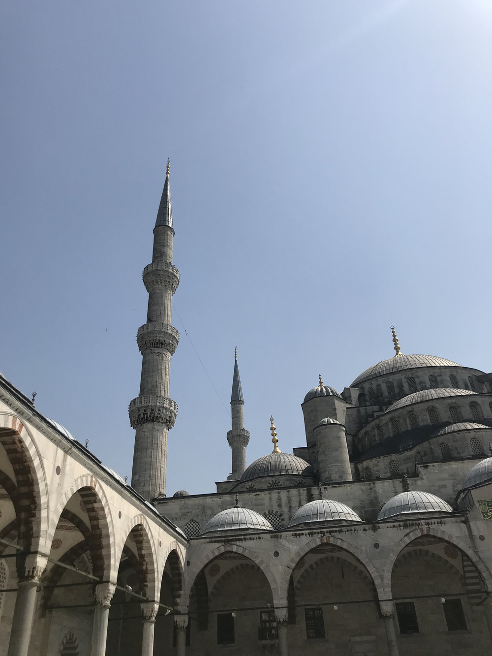 Mosque near Hagia Sophia