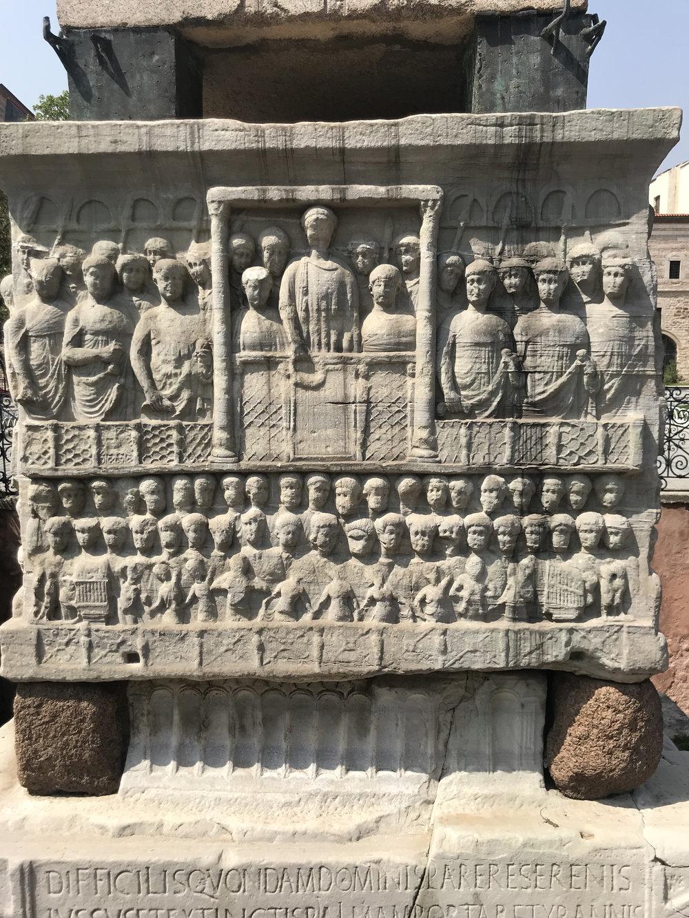 Ancient obelisk, Istanbul
