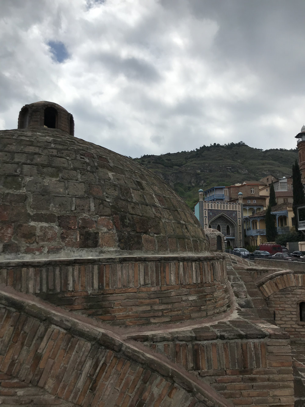 The baths in Tbilisi (they're famous!)