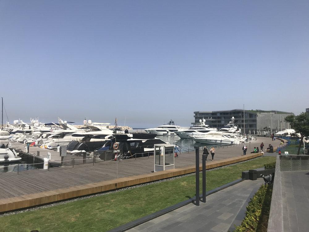 Marina in Beirut