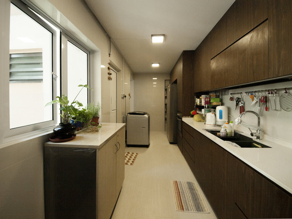 Spacious and welcoming kitchen!