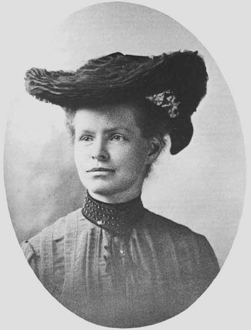 Nettie Stevens, around 1904. Photo via Wikimedia Commons