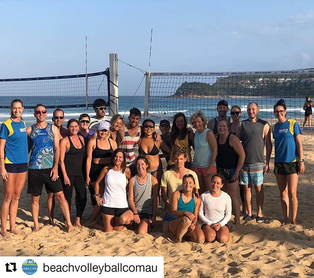 Not everyday you get to be trained by Olympians..unless you do beach volleyball squads with @beachvolleyballcomau then you get to train with @becchara on the regular.  Good luck to @becchara and @nikkilaird7 this weekend at the SA Open!  #Repost @beachvolleyballcomau ・・・ Manly Beach clinic with Olympians 🏐😉 ... Thank you @becchara & @nikkilaird7 for running session focus on games strategy @manlybeachaustralia in Wednesday night 💪🏐🙌 ... Girls will be back soon and we will organize another clinic 🖕 ... Stay tuned for more information 👌 ... #manly #manlybeach #beachvolleyball